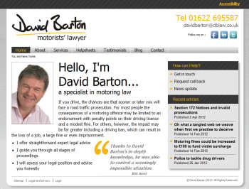 David Barton - Motorists' Laywer