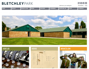 Bletchley Park screen grab