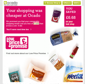 ocado customer journey