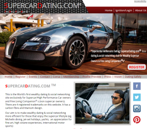 Supercar Dating Screengrab